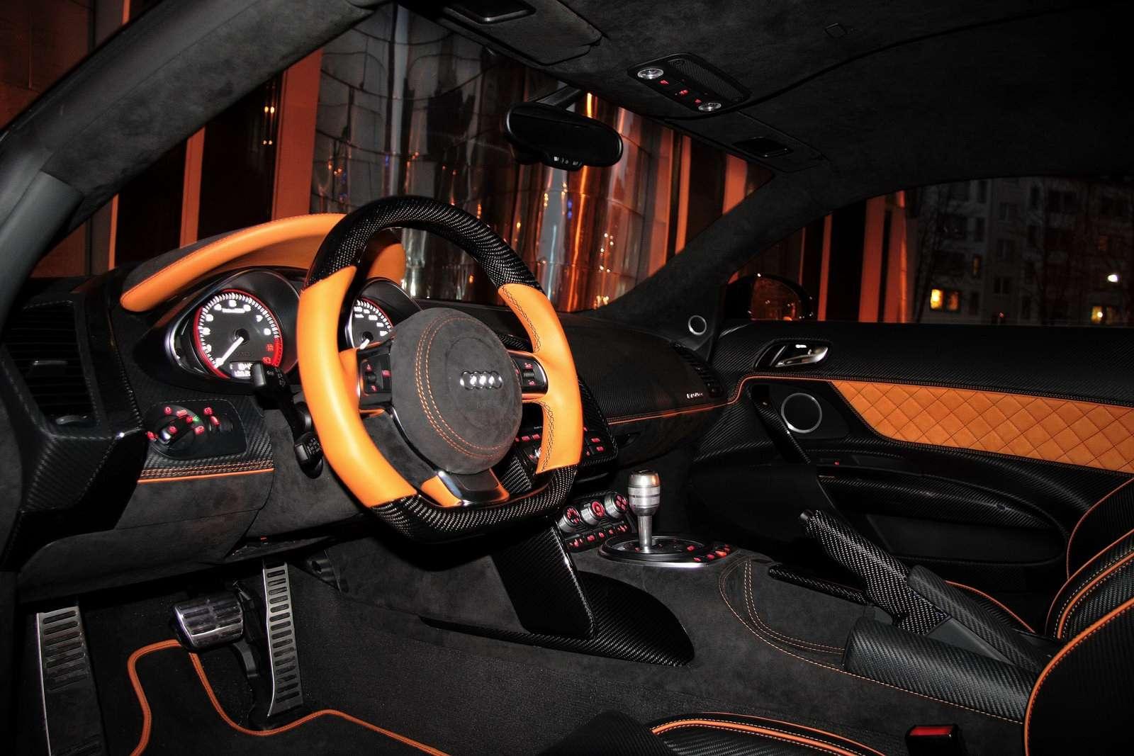 Audi R8 Hyper Black marzec 2011