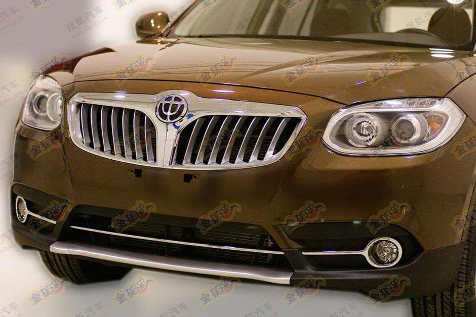 Brilliance A3 SUV fot marzec 2011