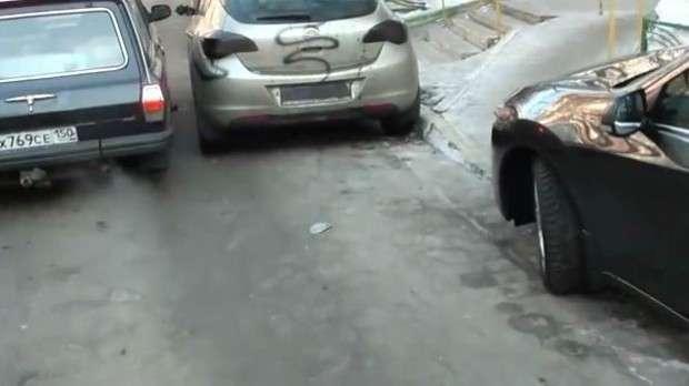 parkowanie w Rosji marzec 2011