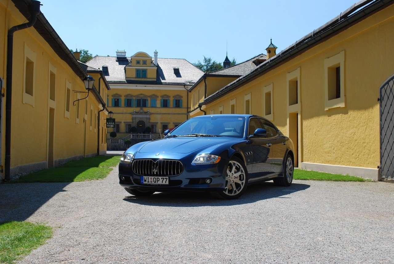 Maserati Quattroporte Marzec 2011