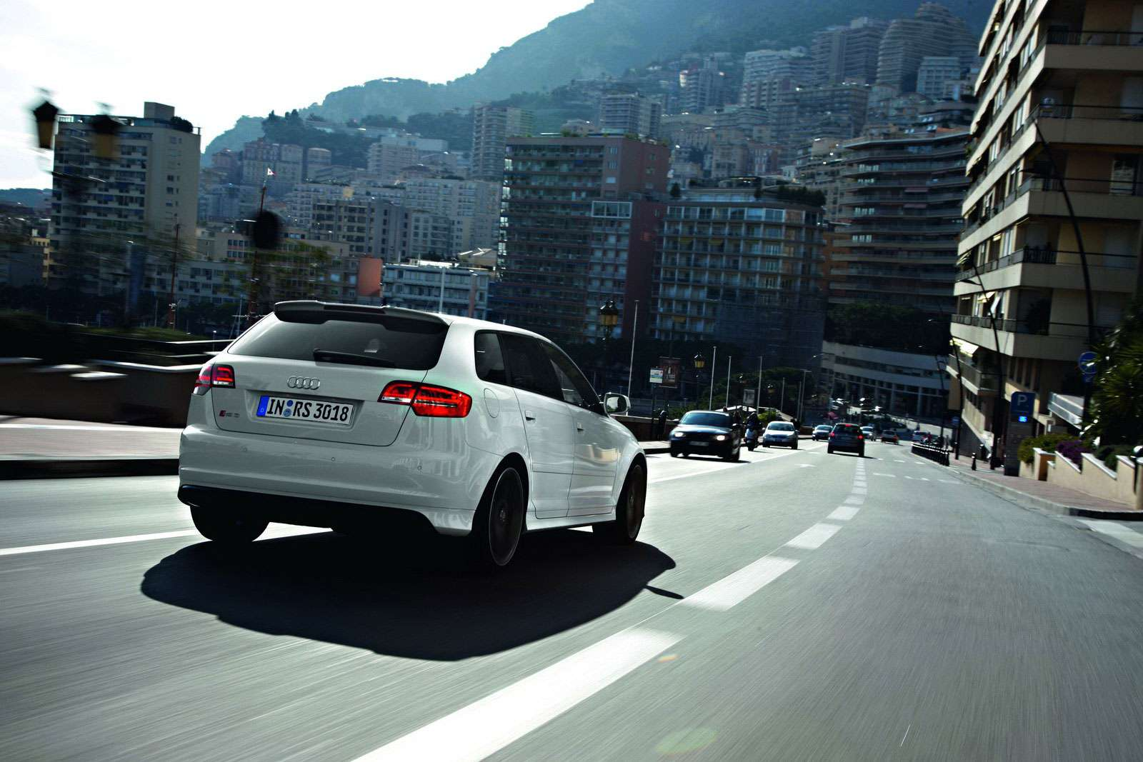 Audi RS3 Sportback podbija Monaco marzec 2011