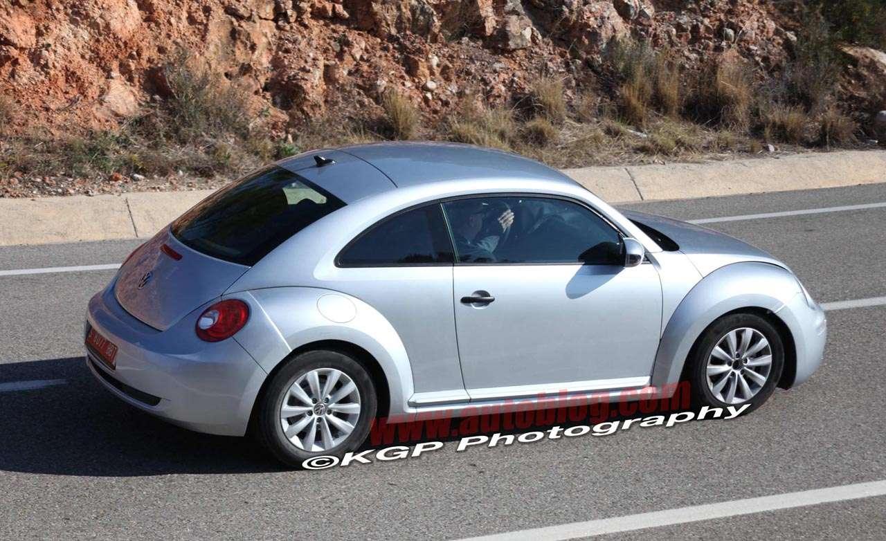 Nowy Volkswagen Beetle szpieg fot marzec 2011