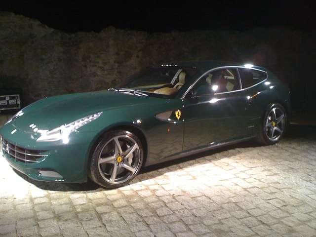 Wypadek Ferrari FF Marzec 2011