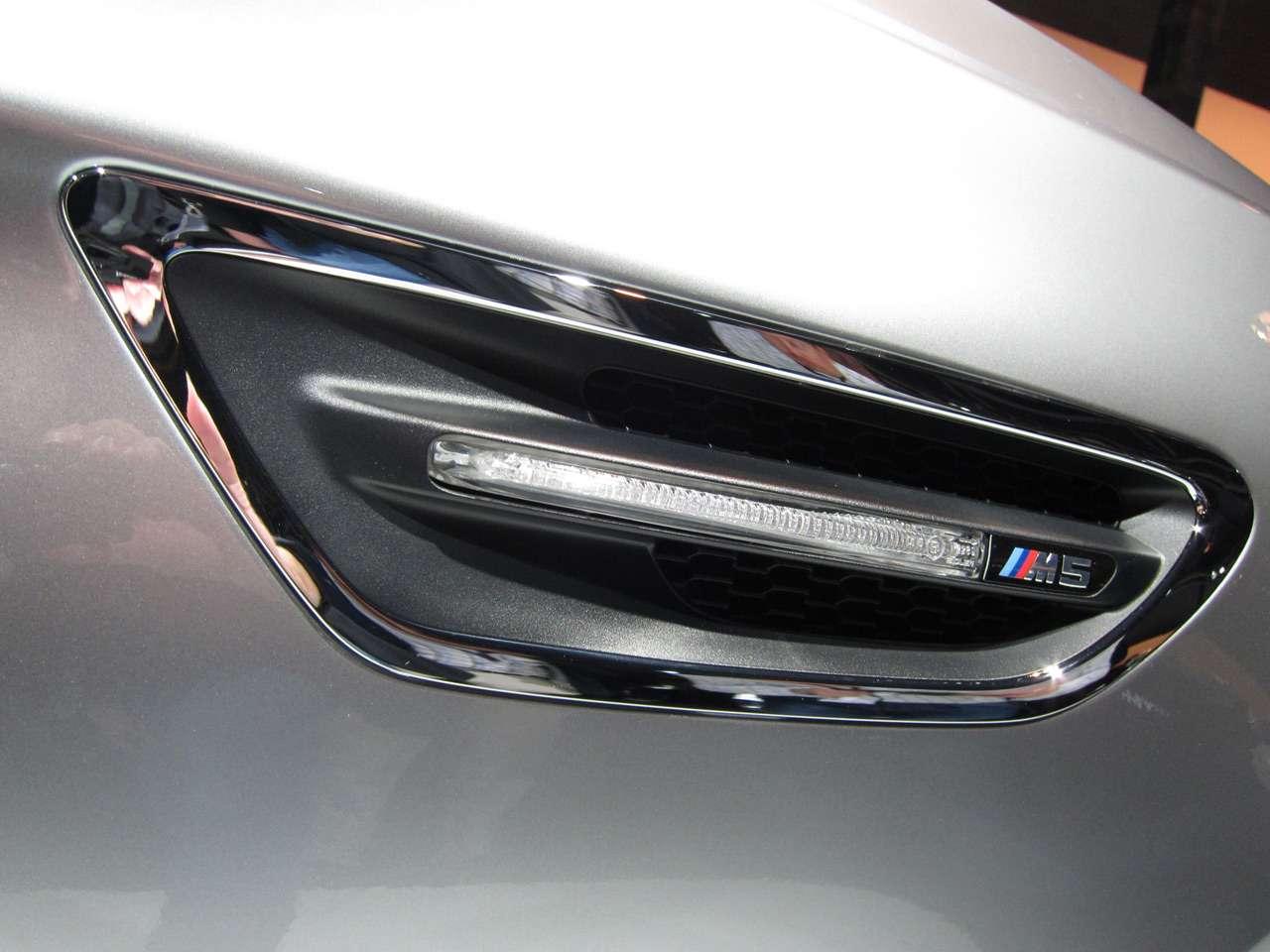 BMW Concept M5 kwiecien 2011
