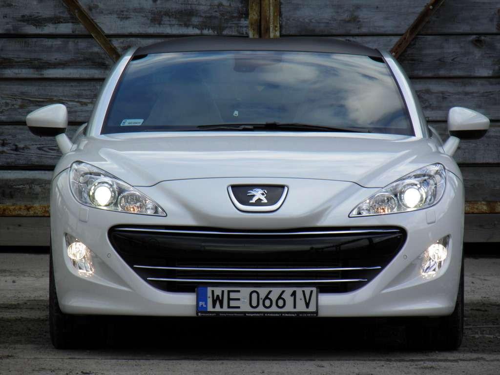 Peugeot RCZ test kwiecien 2011