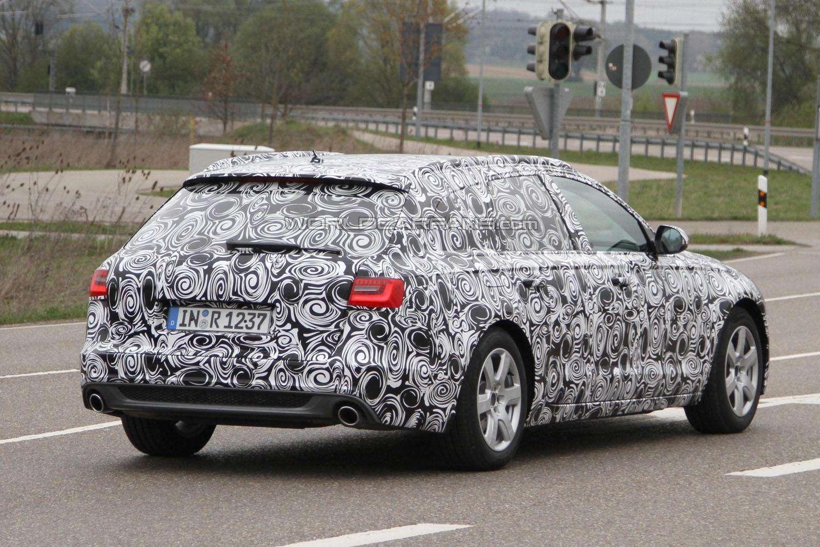 Audi A6 Avant zdjecia szpiegowskie Kwiecien 2011