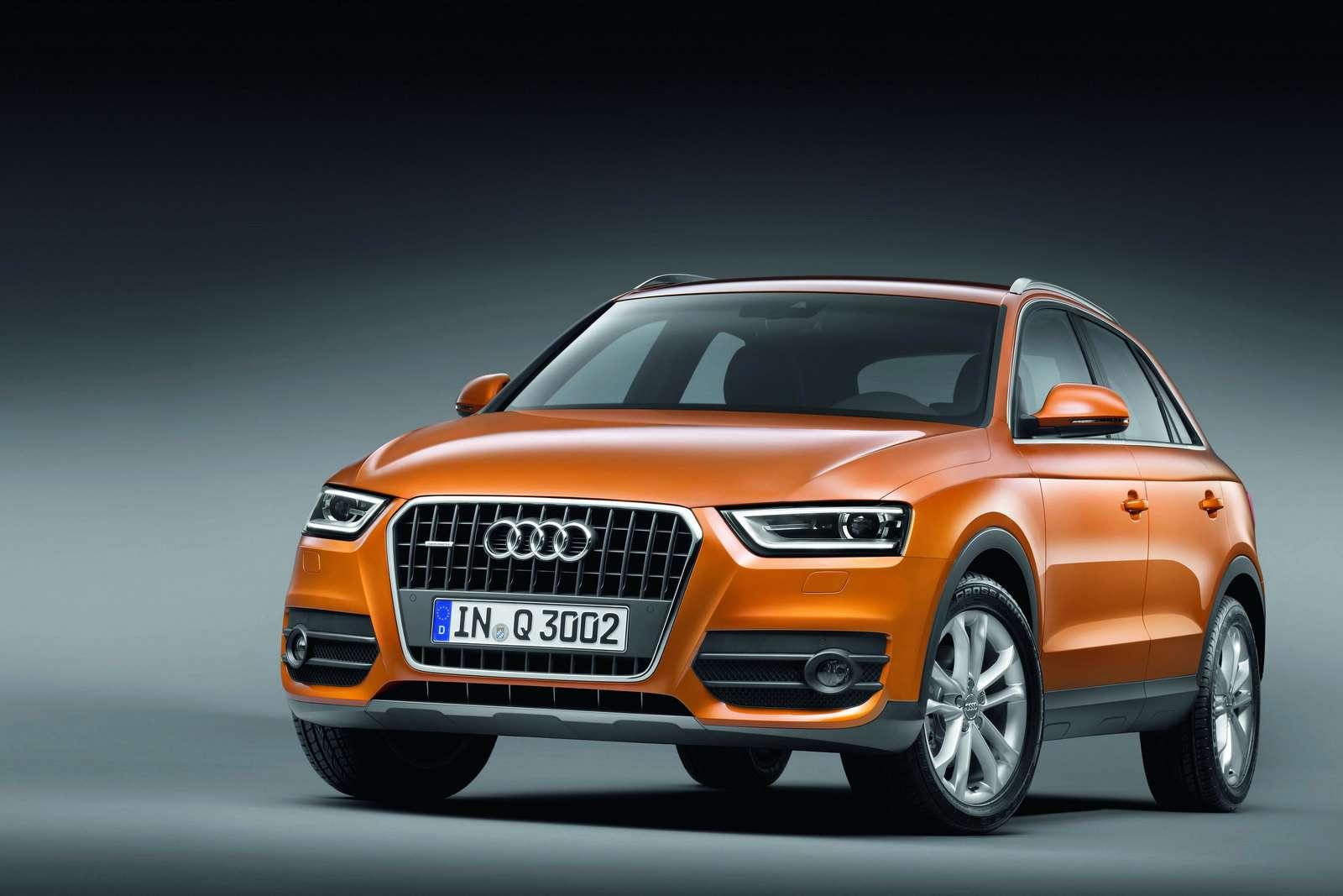 Audi Q3 SUV oficjalnie kwiecien 2011
