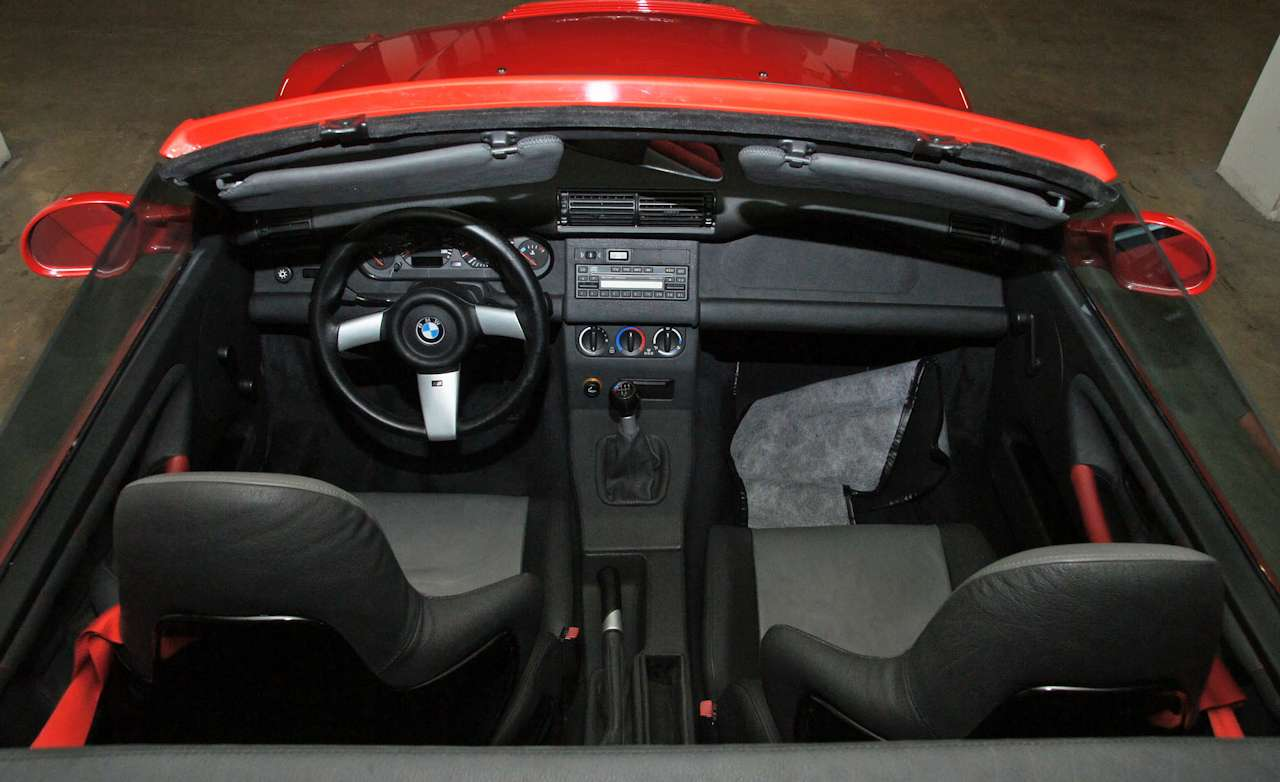 M's BMW Z3 proposal interior
