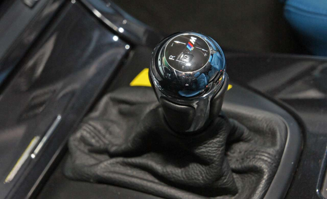 BMW X5 Rear-Wheel-Drive Project shift lever