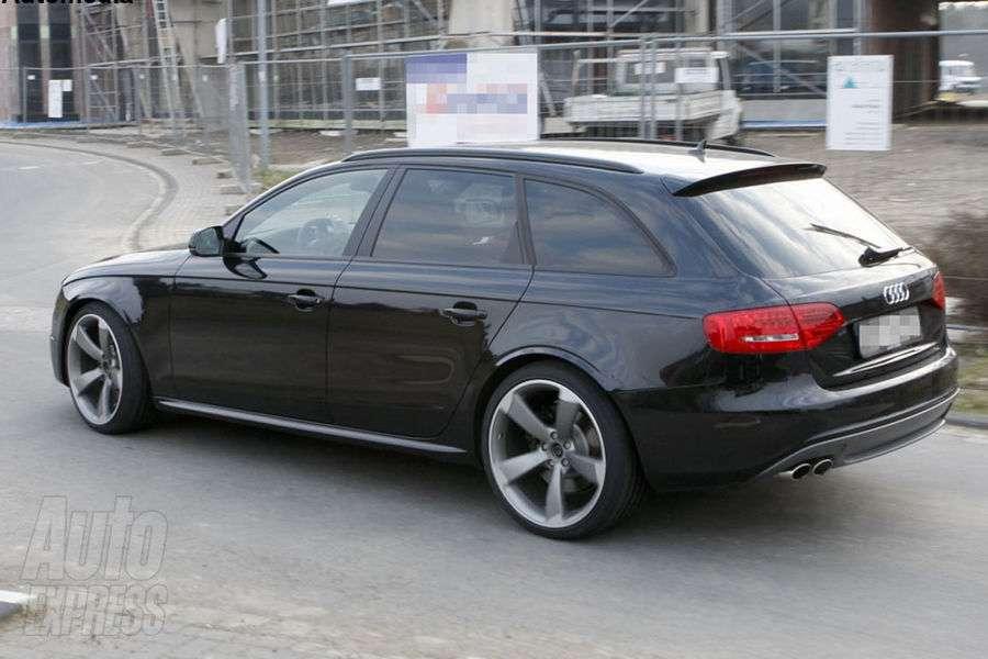 Audi RS4 zdjecia szpiegowskie Kwiecien 2011