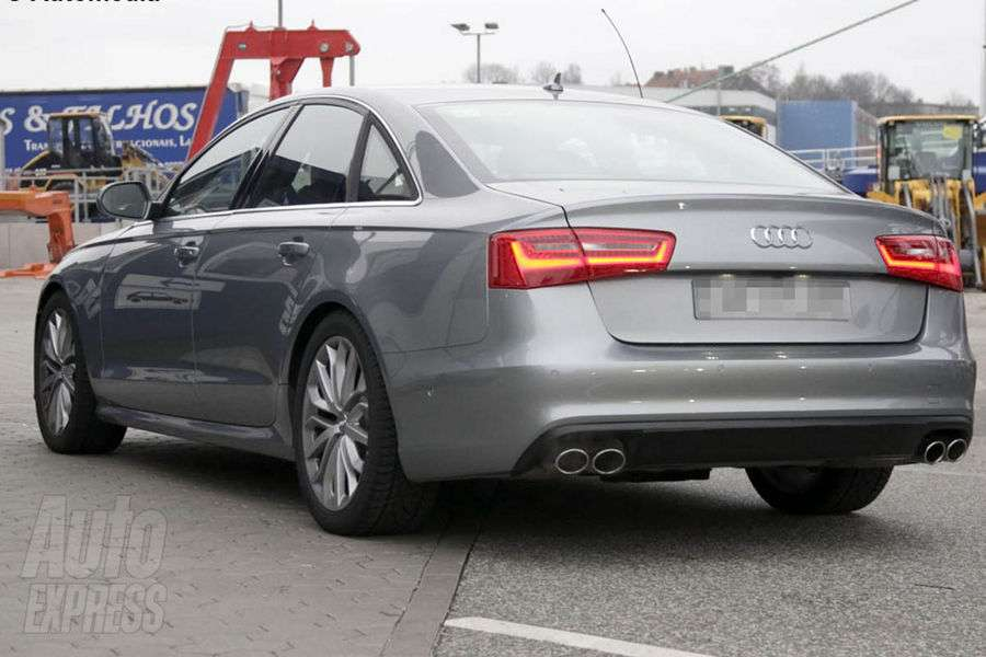 Audi S6 prawie szpiegowskie Kwiecien 2011