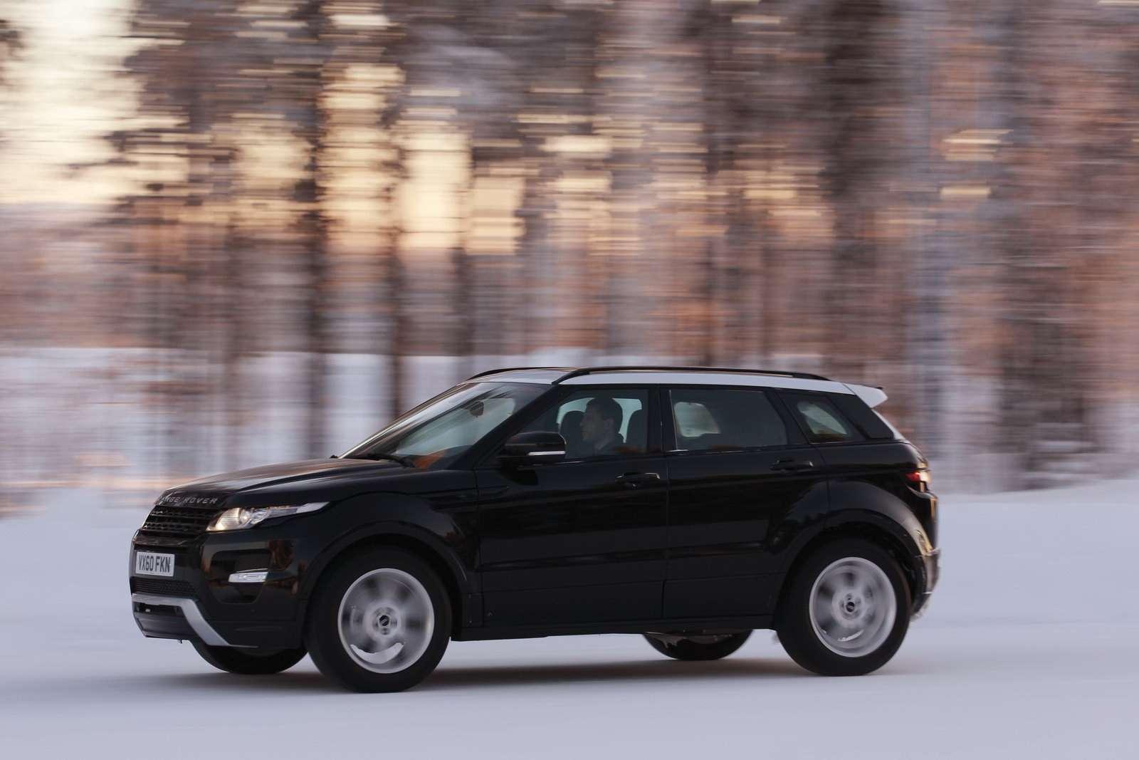 Range Rover Evoque Kwiecien 2011