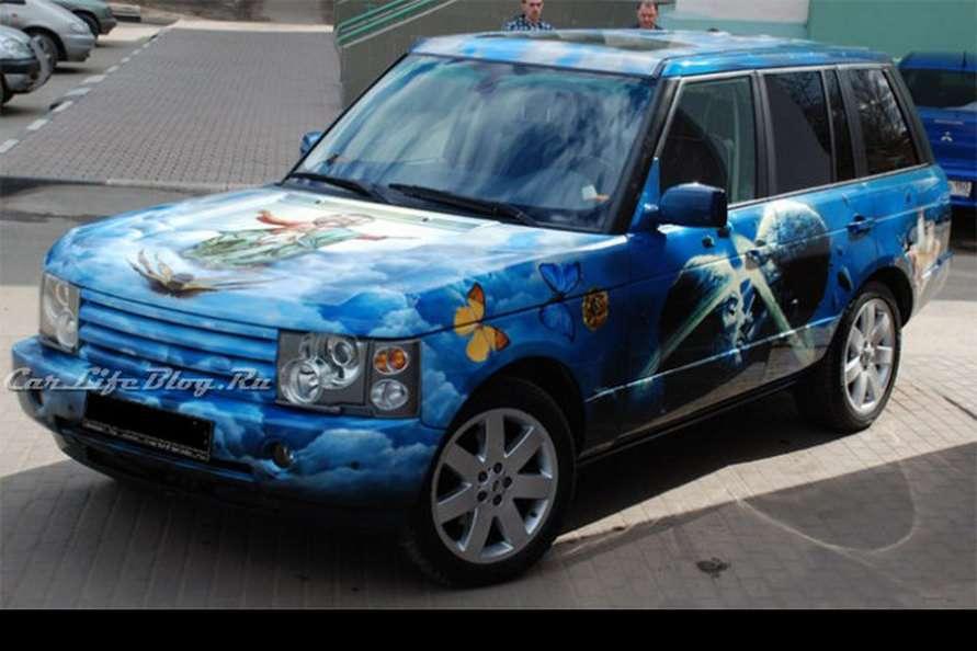 Range Rover z pianka Kwiecien 2011