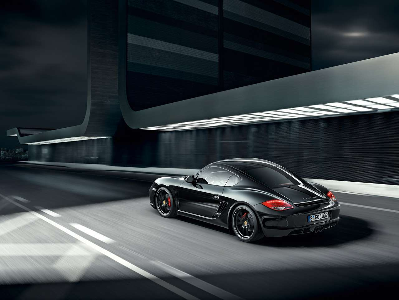 Porsche Cayman S Black Edition maj 2011