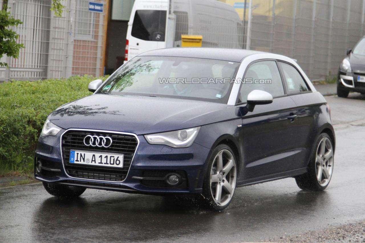 Audi S1 2012 szpieg wcf maj 2011