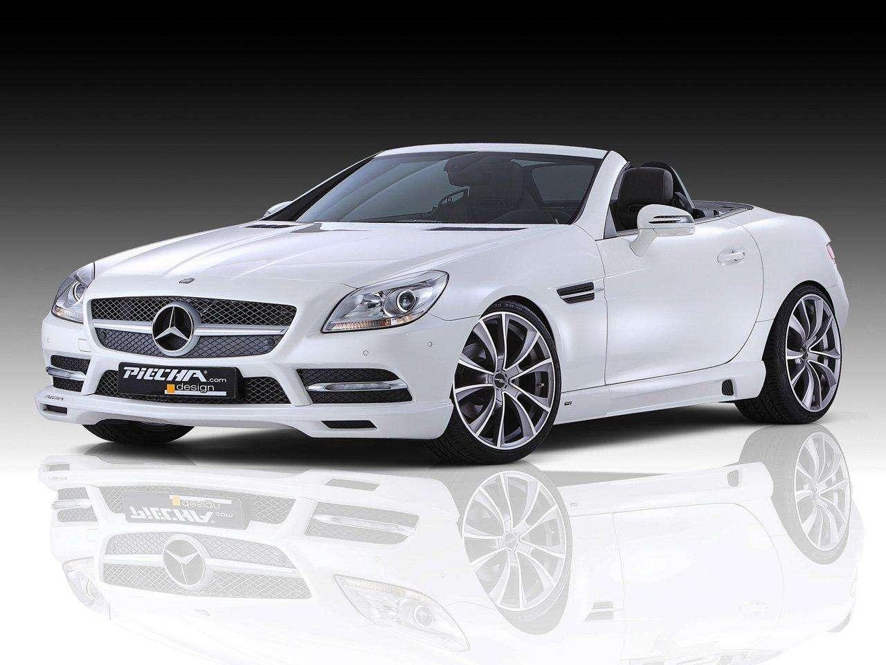 Mercedes SLK piecha design maj 2011