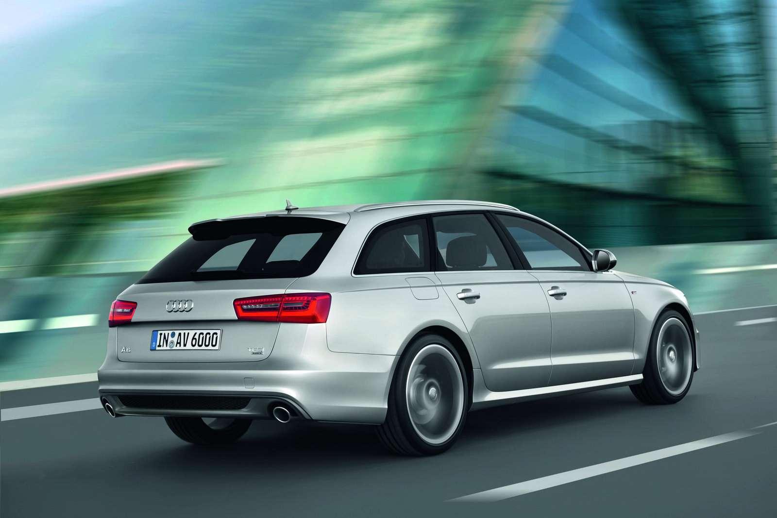Audi A6 Avant fot maj 2011