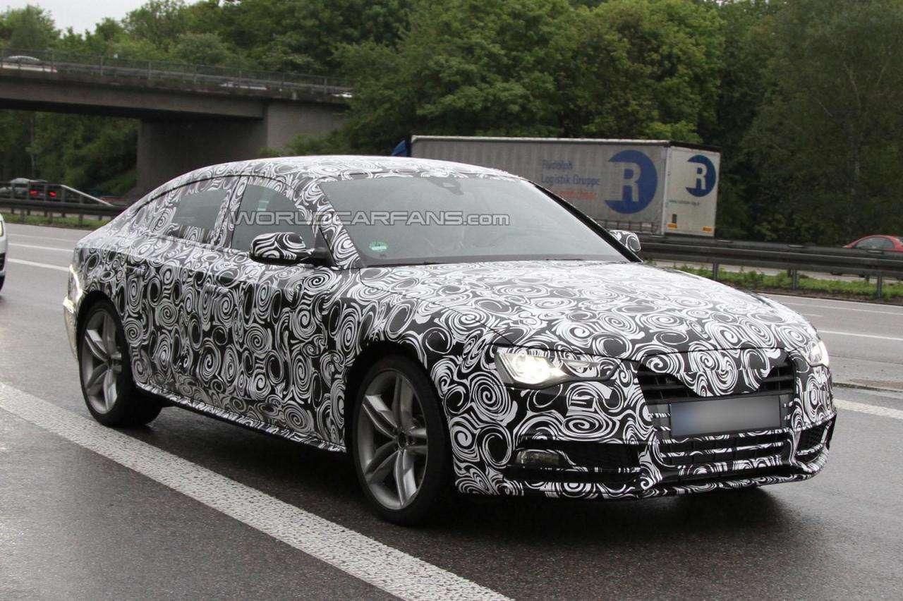 Audi S5 Sportback szpieg fot maj 2011