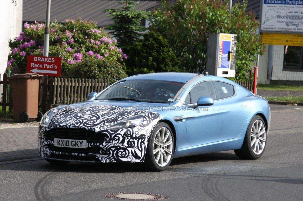 Aston Martin Rapide fot szpiegowskie maj 2011
