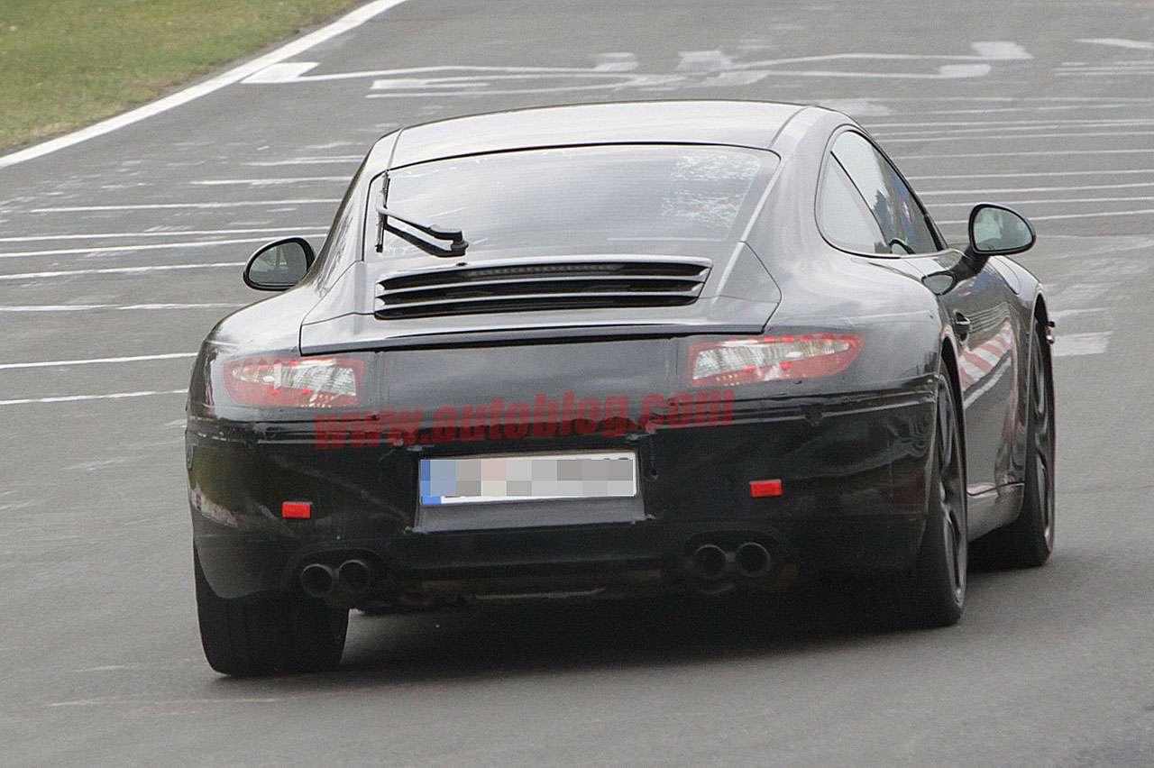 Porsche 911 kers fot szpieg maj 2011
