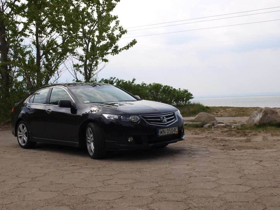 Honda Accord 22 type s test maj 2011
