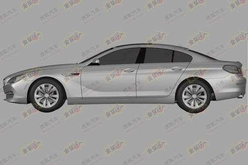 BMW 6 Gran Coupe Concept rysunki patentowe maj 2011