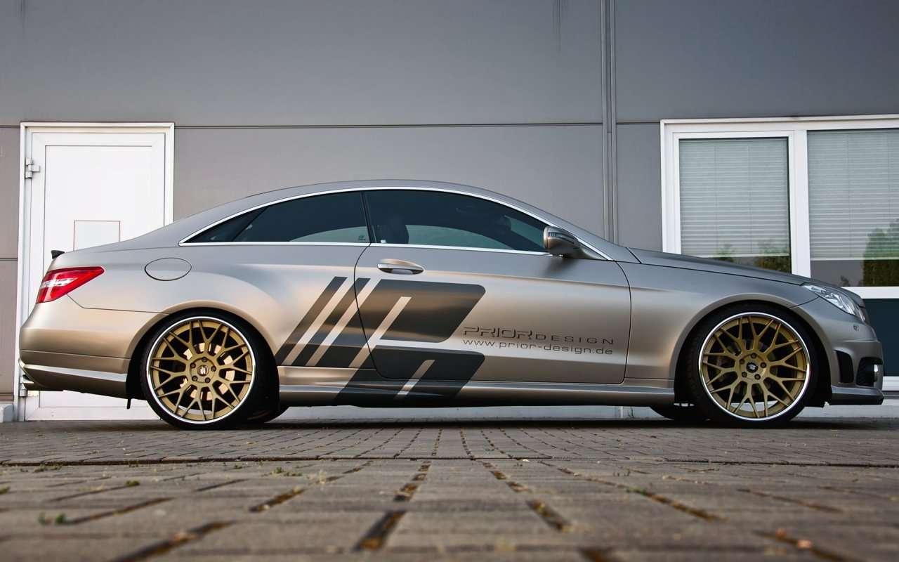 Mercedes E-klasa Coupe Prior Design maj 2011