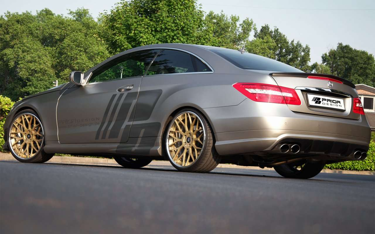 Mercedes E-klasa Coupe Prior Design maj 2011