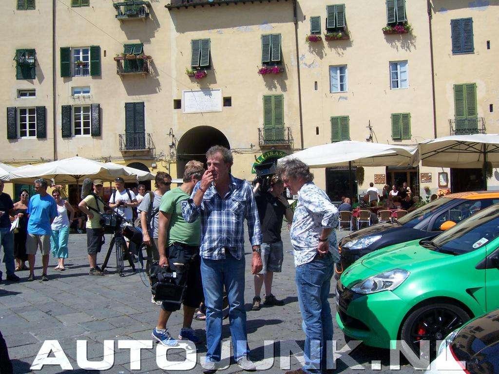 Top Gear przylapany wlochy Maj 2011