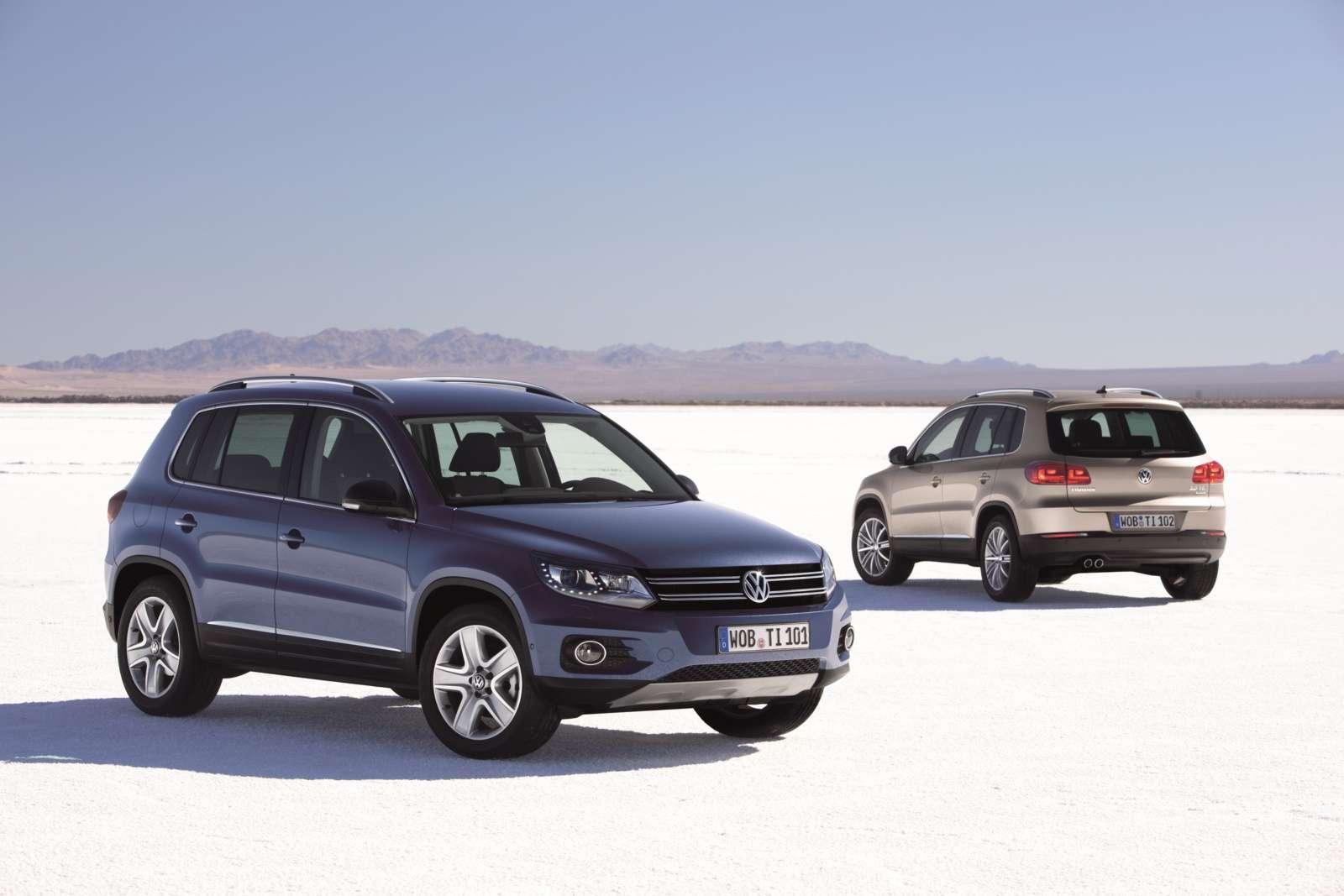 Volkswagen Tiguan Facelift 2012