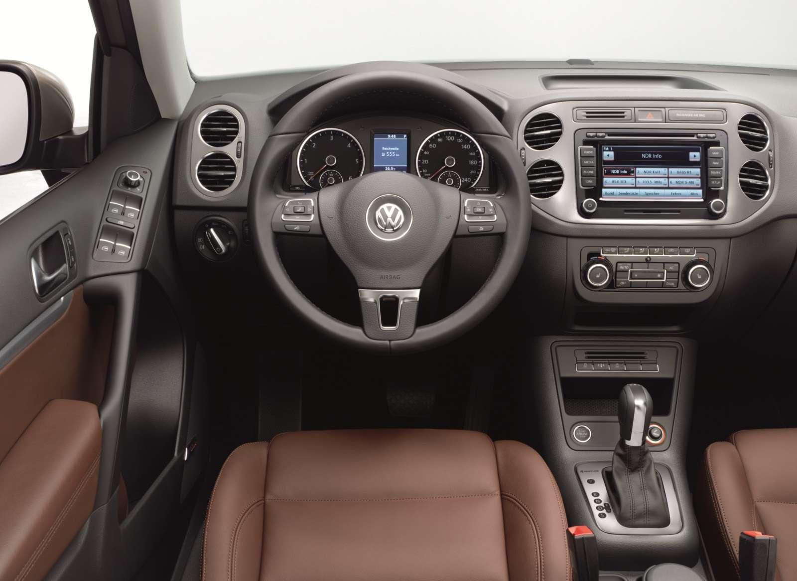 VW Tiguan 2012 obszerna fot maj 2011