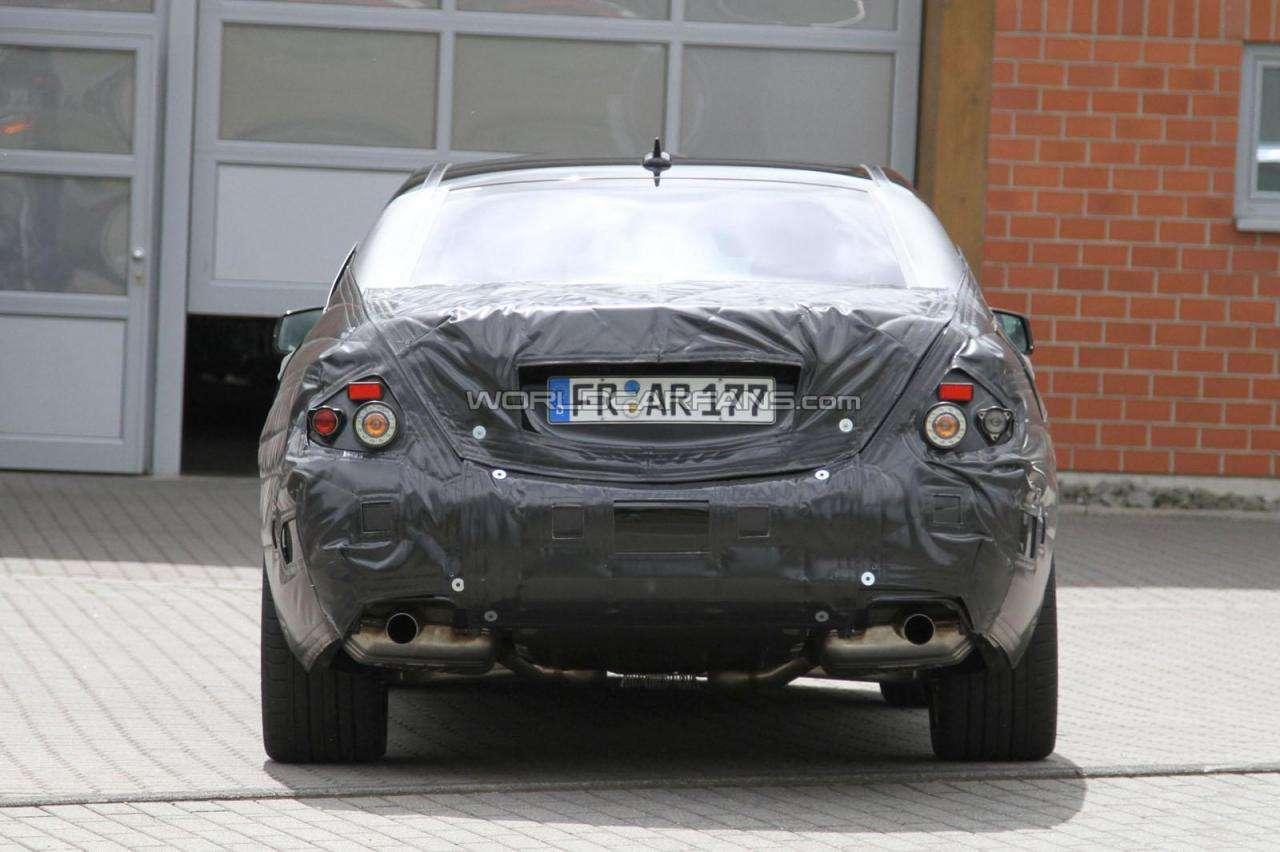 2013 Mercedes S63 AMG przylapany fot czerwiec 2011