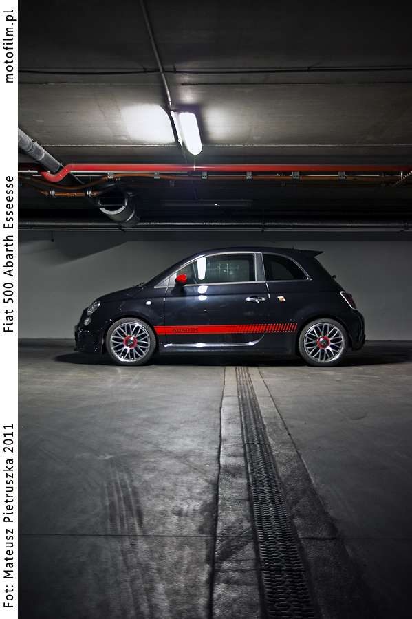 Abarth 500 esseesse test