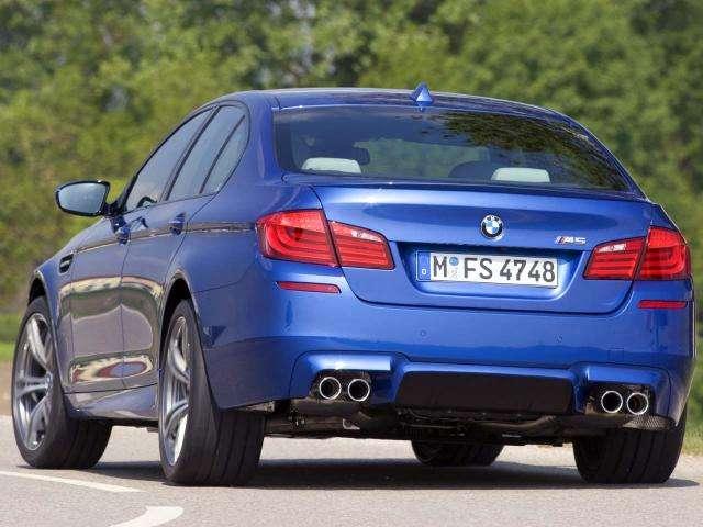 Pierwsze foty BMW M5 2012 czerwiec 2011