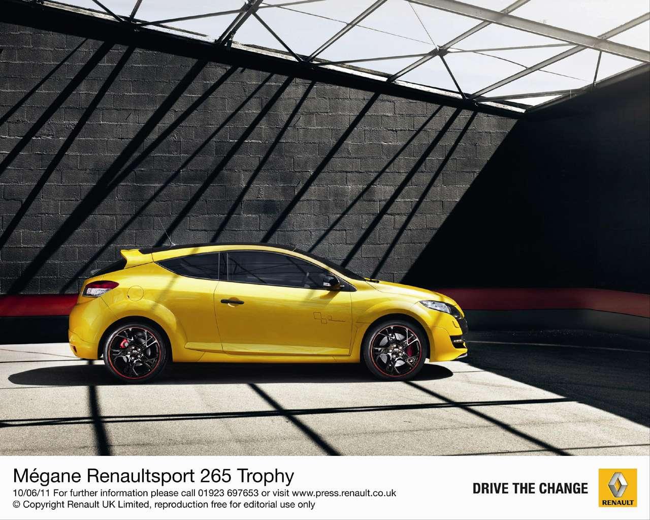Renault Megane 265 Trophy Czerwiec 2011