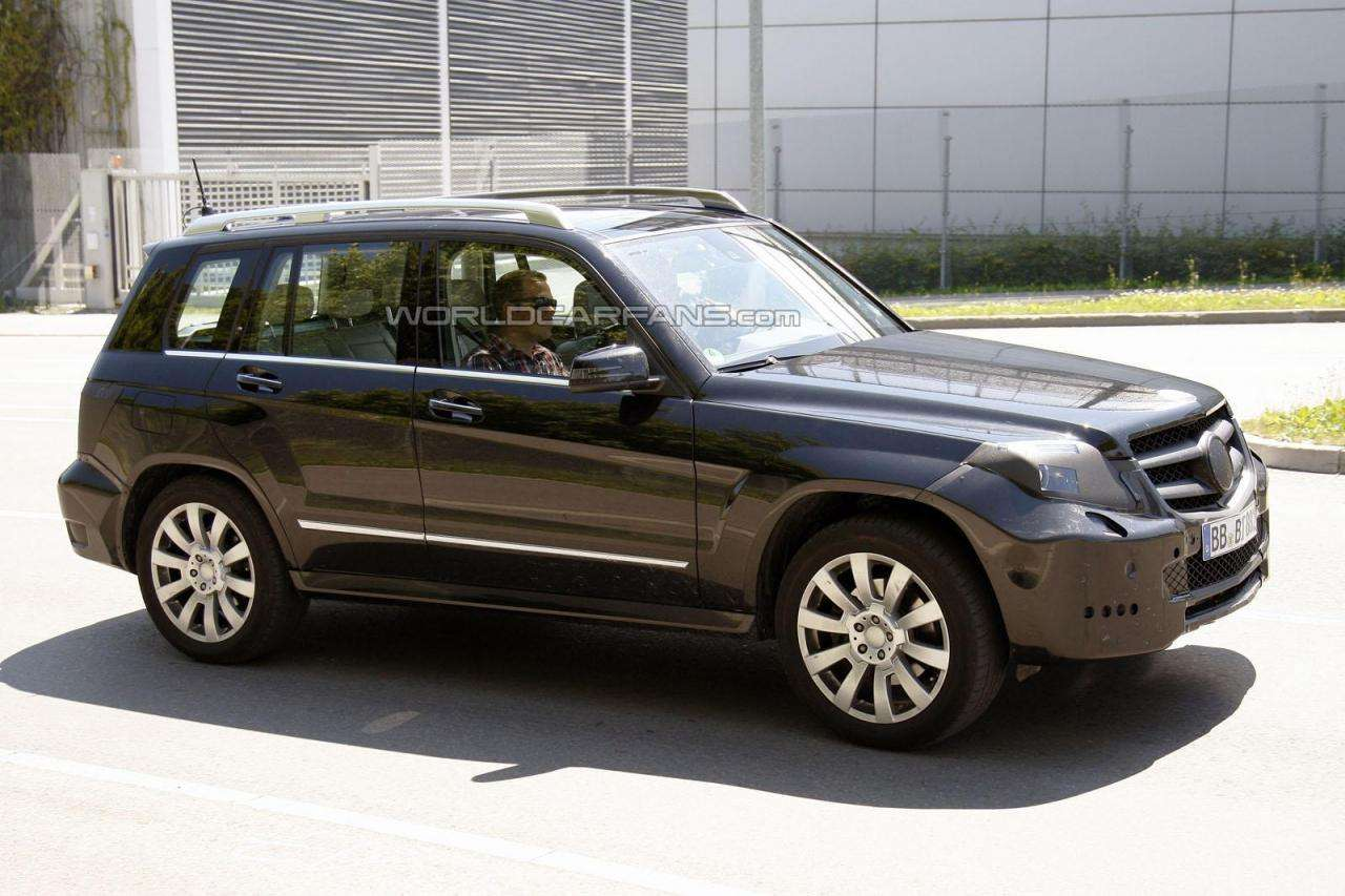 2012 Mercedes GLK lifting fot szpieg lipiec 2011