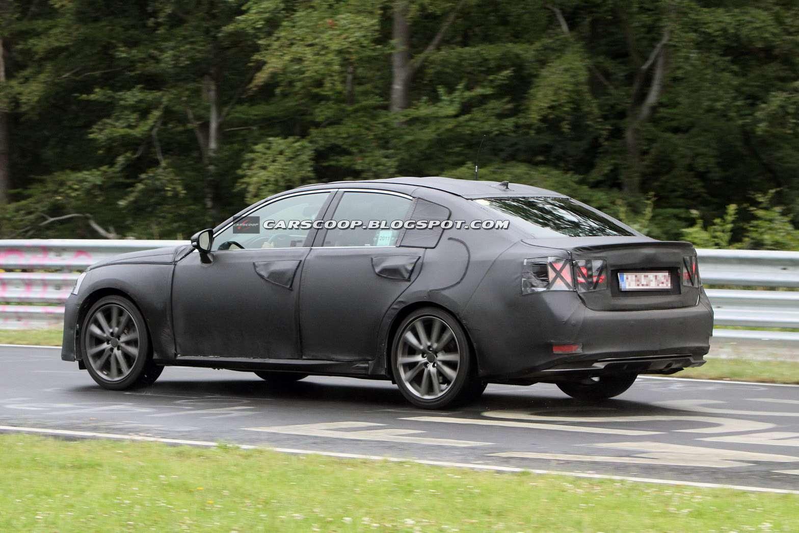 Lexus GS 2013 fot szpieg lipiec 2011
