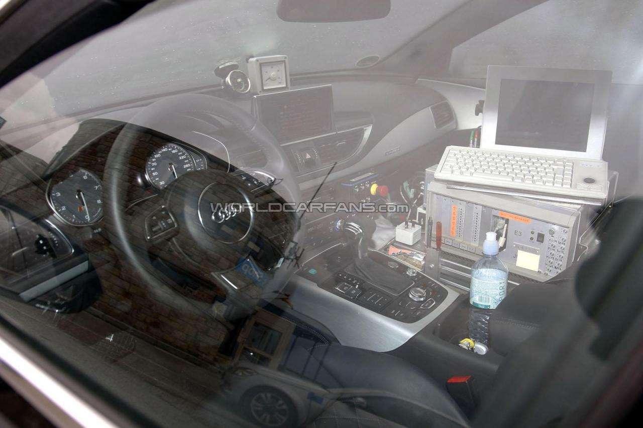 Audi S7 przylapane fot lipiec 2011