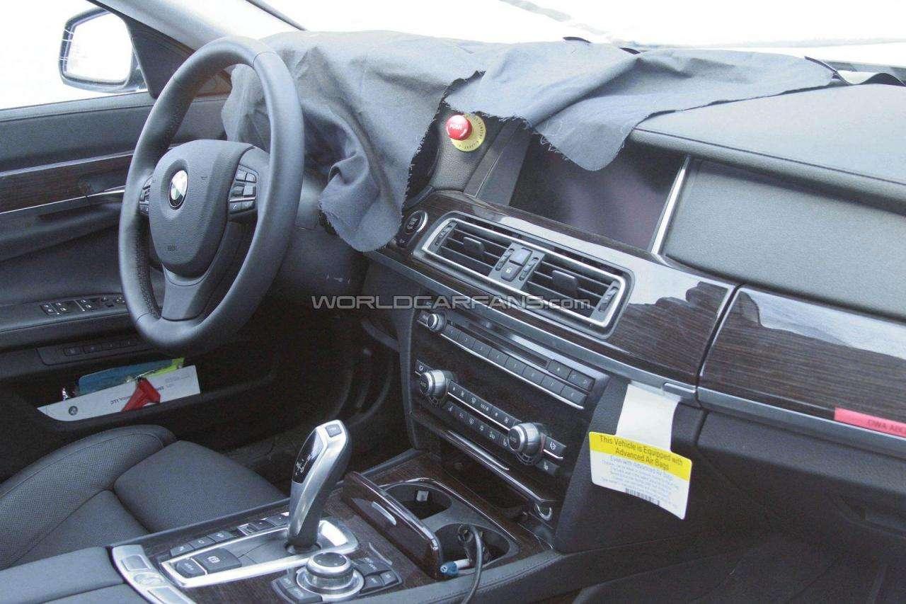 BMW serii 7 zdjecia szpiegowskie 2012 lipiec 2011