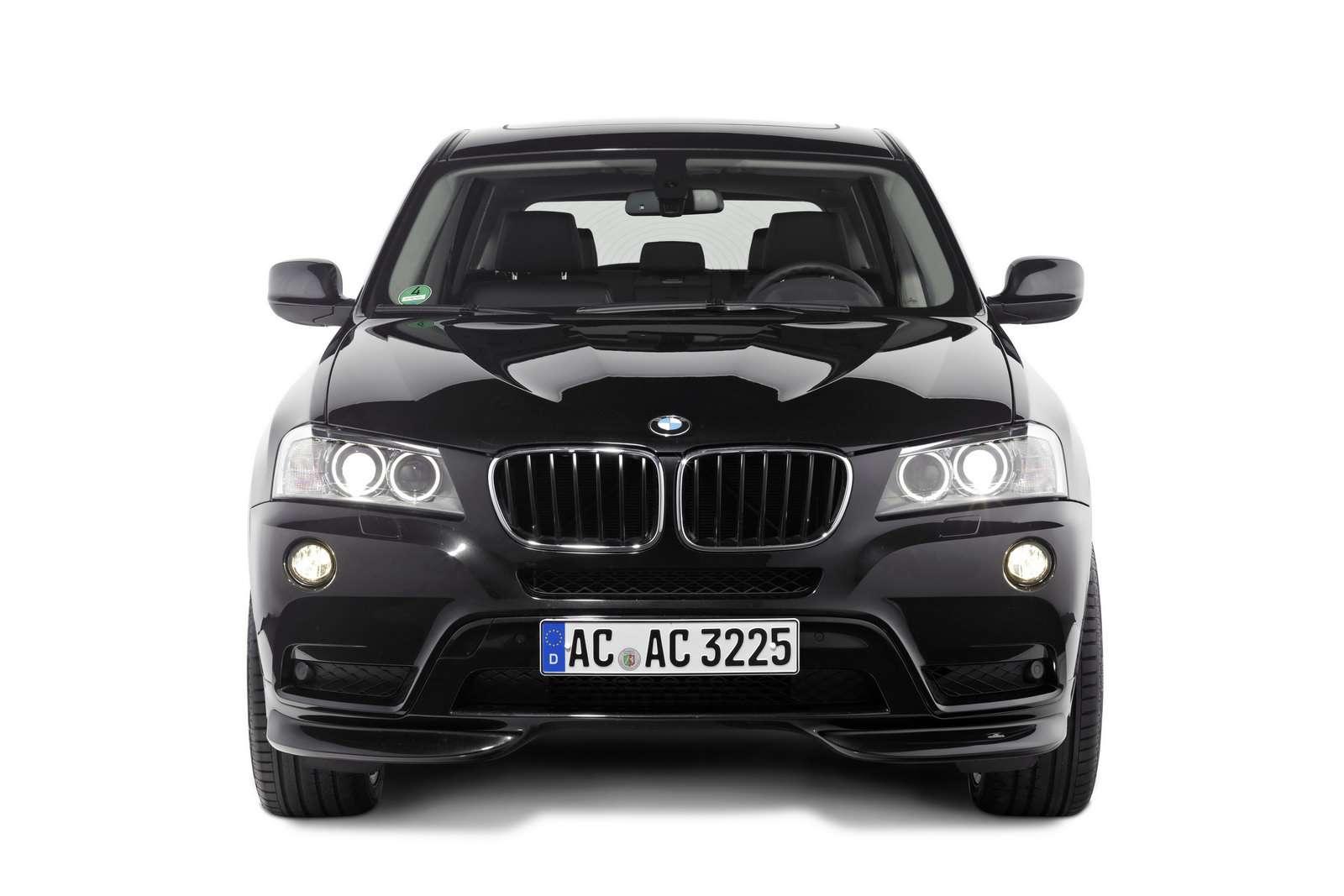 BMW X3 Ac Schnitzer fot czerwiec 2011