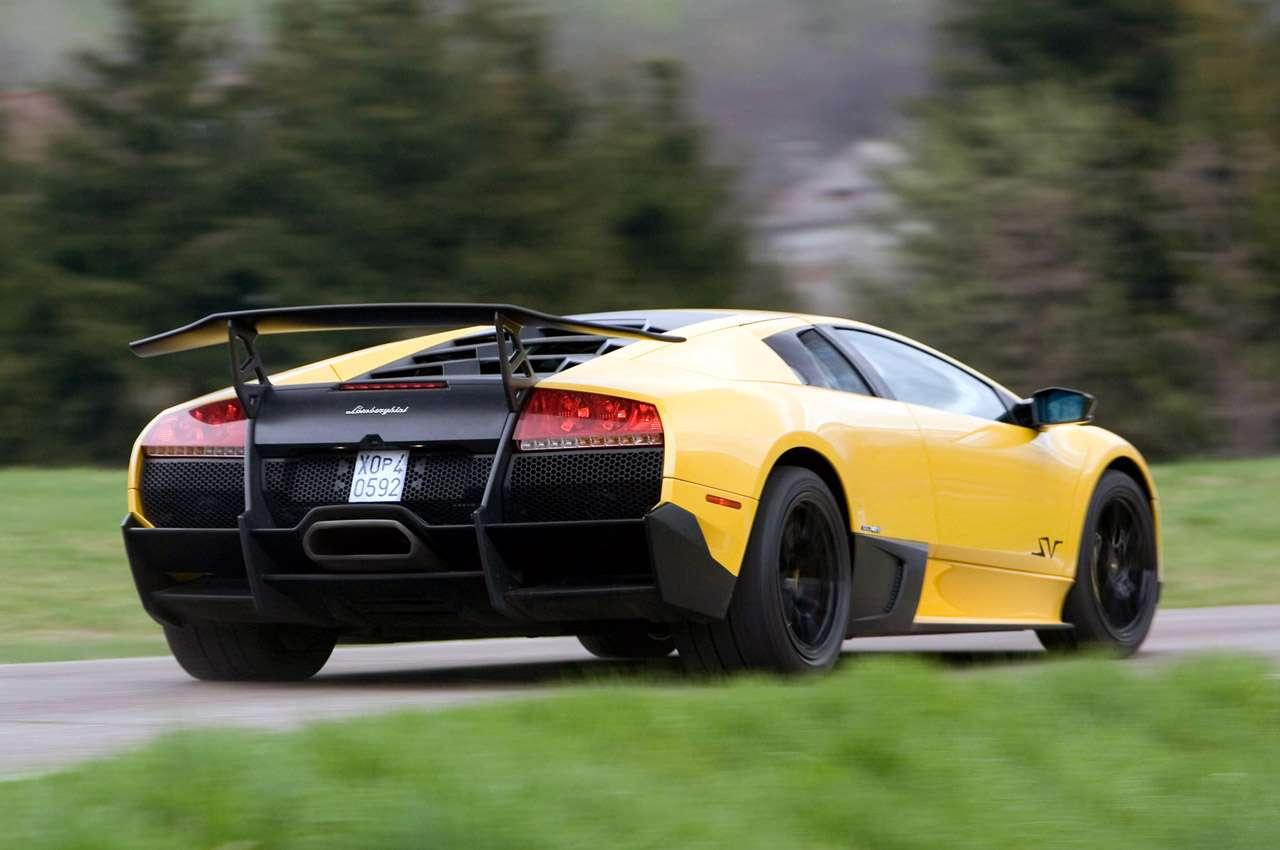 Lamborghini Murcielago SV wiewiorka Lipiec 2011