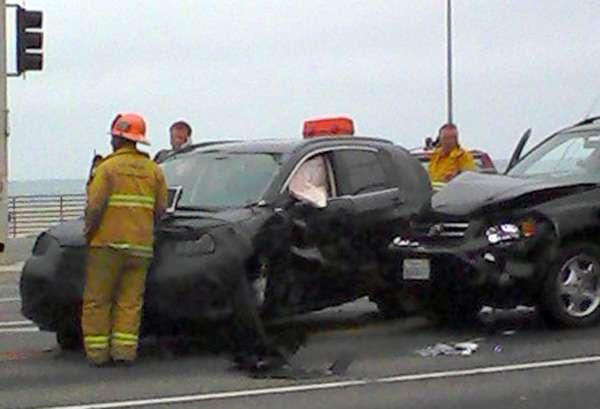 Honda CRV 2012 zamaskowana crash fot lipiec 2011