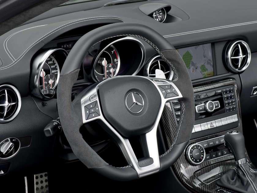 Mercedes SLK 55 AMG first photo sierpien 2011