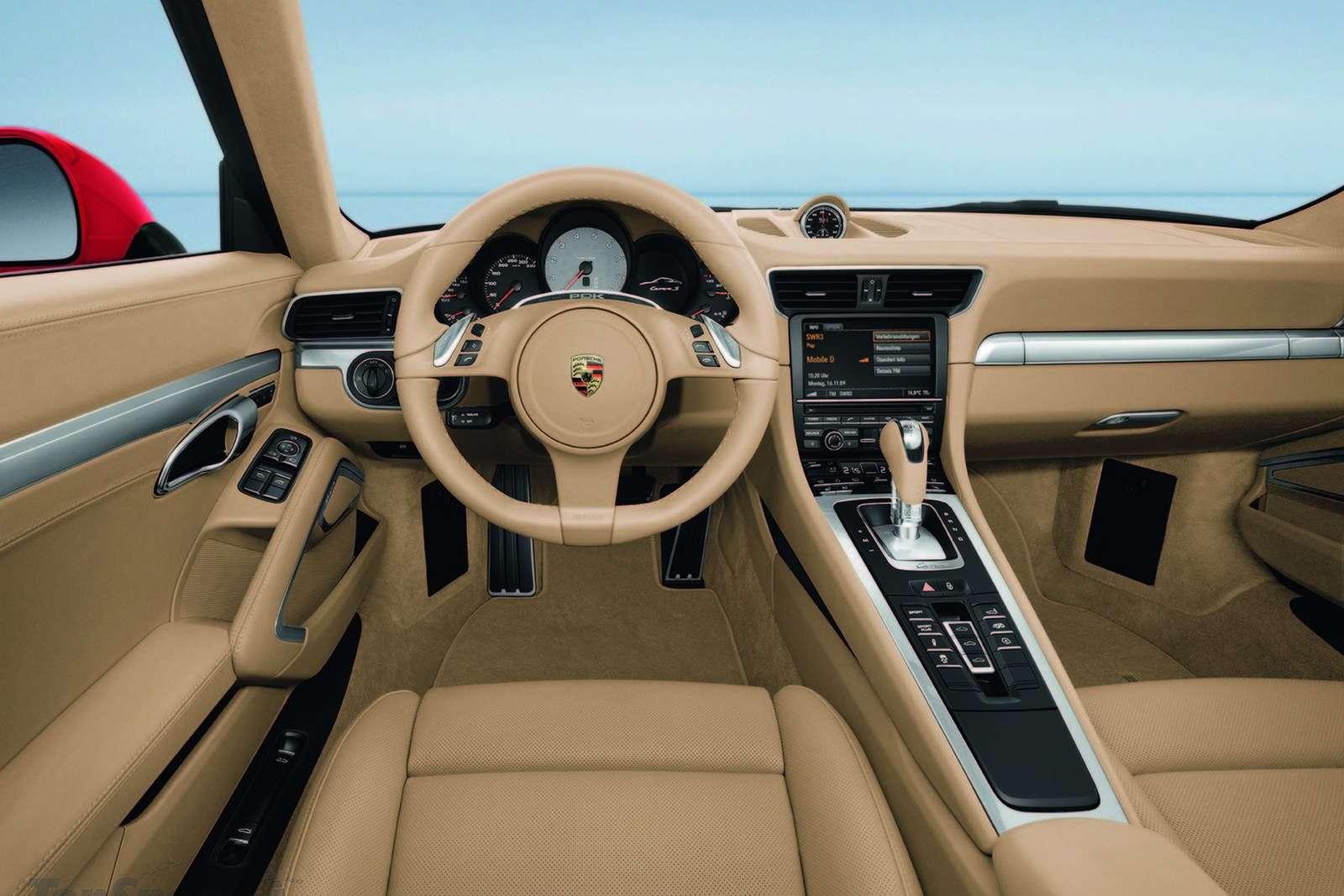 2012 Porsche 911 pierwsze fot sierpien 2011