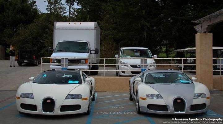 11 bugatti veyron na jednej ulicy wideo sierpien 2011