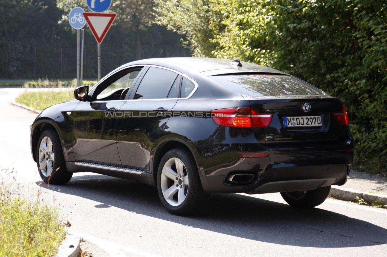 2012 BMW X6 po facelifcie fotki szpieg wcf sierpien 2011