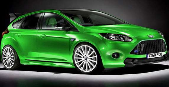 Ford Focus RS 2014 spekulacje auto express sierpien 2011