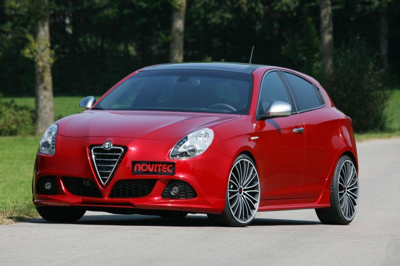 Alfa Romeo Giulietta od firmy Novitec sierpien 2011