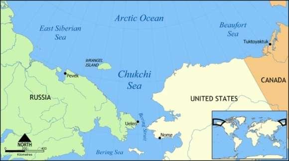 najdłuższy tunel podwodny do Alaski pod Cieśniną Beringa
