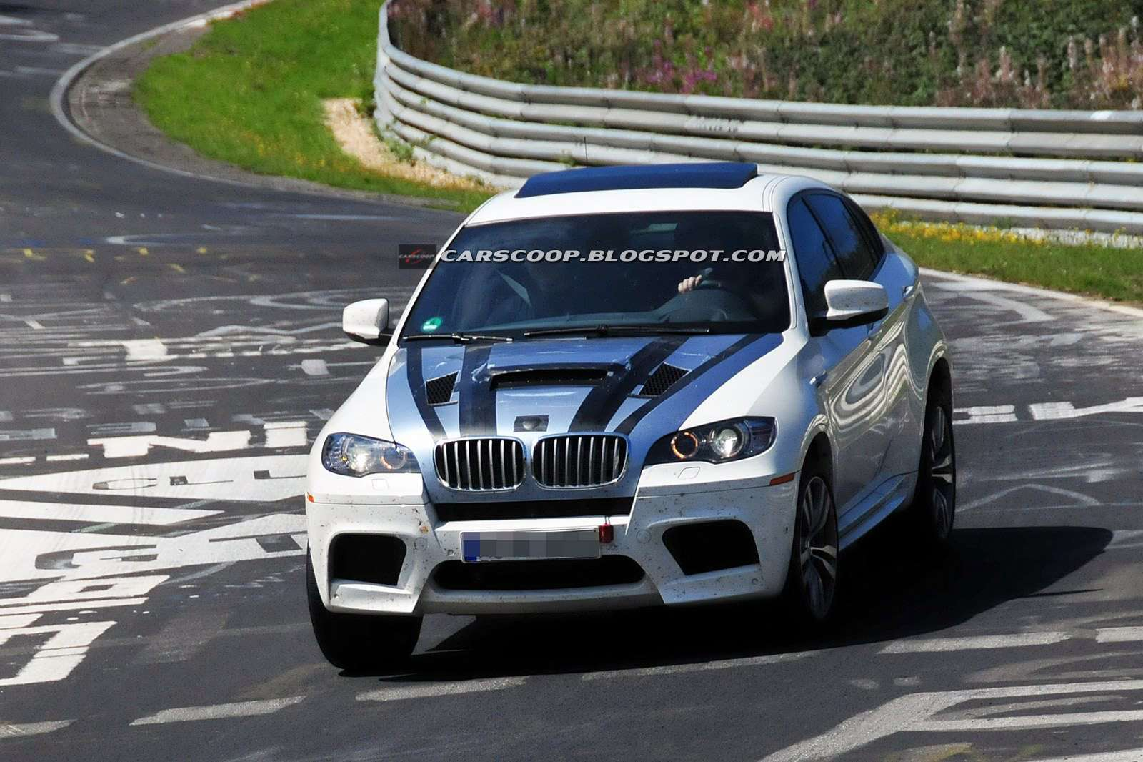 BMW X6M fot szpieg diesel sierpien 2011